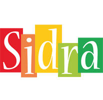 Sidra colors logo