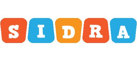 Sidra comics logo