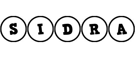 Sidra handy logo