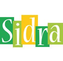 Sidra lemonade logo