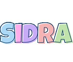 Sidra pastel logo