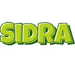 Sidra summer logo