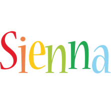 Sienna birthday logo