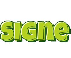 Signe summer logo