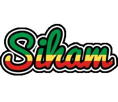 Siham african logo