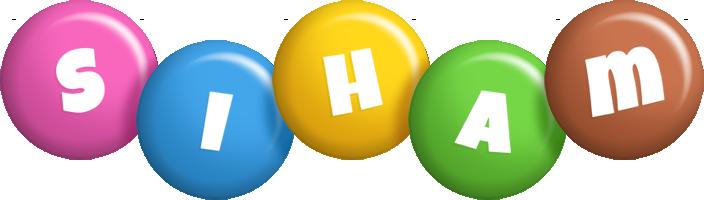 Siham candy logo