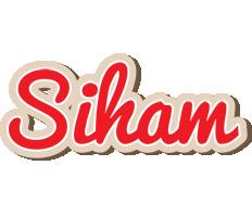 Siham chocolate logo