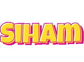 Siham kaboom logo
