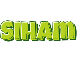 Siham summer logo