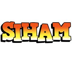 Siham sunset logo