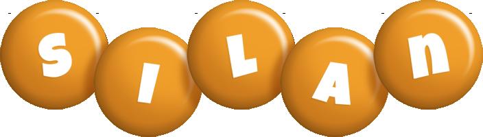 Silan candy-orange logo