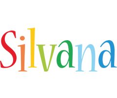 Silvana birthday logo