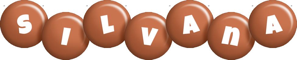 Silvana candy-brown logo
