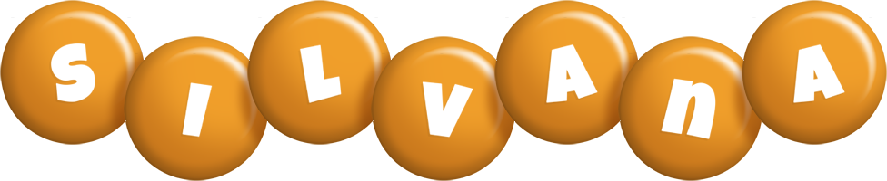 Silvana candy-orange logo