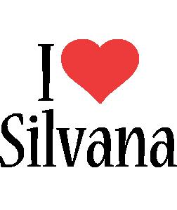 Silvana i-love logo