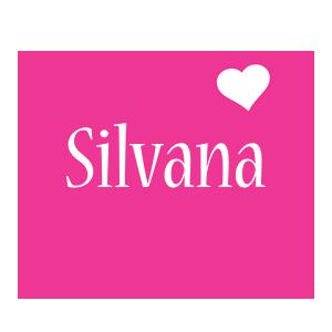 Silvana love-heart logo