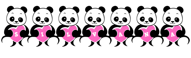 Silvana love-panda logo
