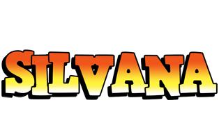 Silvana sunset logo