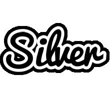 Silver chess logo