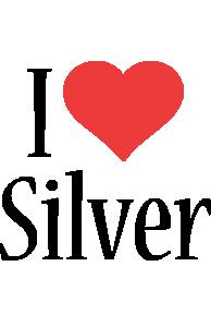 Silver i-love logo