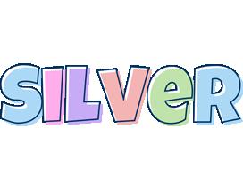 Silver pastel logo