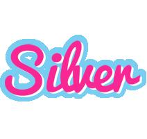 Silver popstar logo