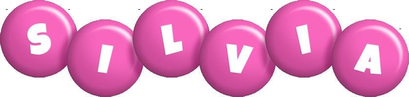Silvia candy-pink logo