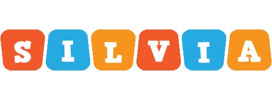 Silvia comics logo