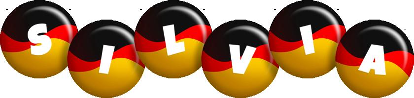 Silvia german logo