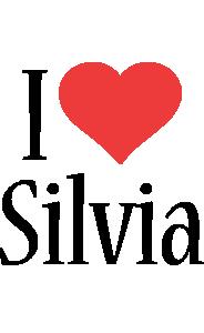 Silvia i-love logo