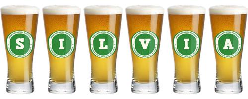 Silvia lager logo