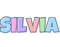 Silvia pastel logo