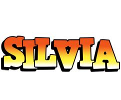Silvia sunset logo