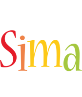 Sima birthday logo