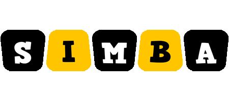 Simba boots logo