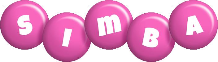 Simba candy-pink logo
