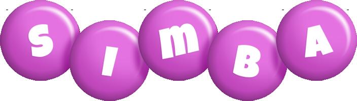 Simba candy-purple logo