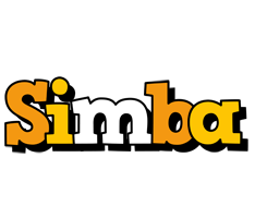 Simba cartoon logo