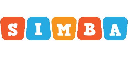 Simba comics logo