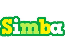 Simba soccer logo