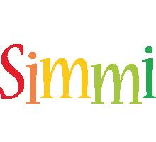 Simmi birthday logo