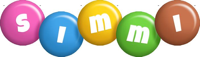 Simmi candy logo