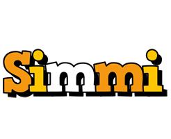 Simmi cartoon logo