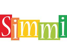 Simmi colors logo