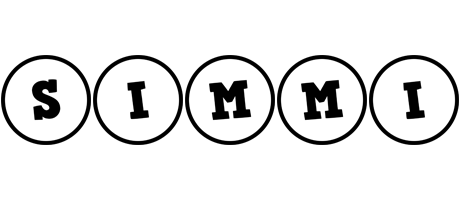 Simmi handy logo