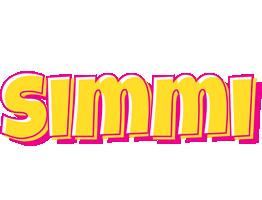 Simmi kaboom logo
