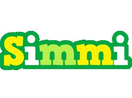 Simmi soccer logo