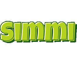 Simmi summer logo