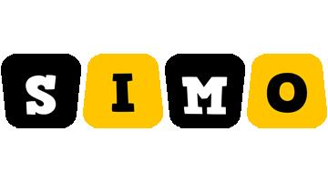 Simo boots logo