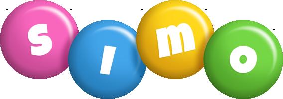 Simo candy logo